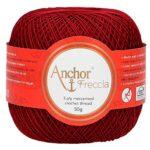 Anchor-4771016-00044-uncinetto-Filati-Cotone-rosso-B07GC6MR3W