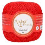 Anchor-4771016-00046-uncinetto-Filati-Cotone-rosso-B07GC2L1LH