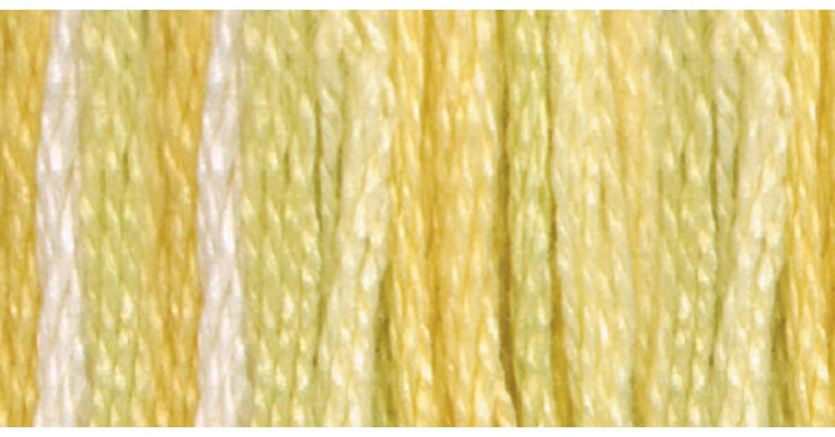 DMC-417-F-4080-Color-Variations-Six-Strand-Embroidery-Floss-8-m-Daffodil-Fields-B001E5S1L0