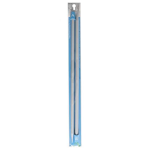 Ferri-Maglia-con-Pomoli-da-40cmVari-Spessori-e-Diametriconf-da-2-pezzi-100mm-Plastica-Grigio-B00G474L2Q