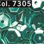 Paillettes-Cup-6-mm-Foro-centrale-tubo-9-G-colore-7305-B0085NGU6C