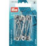 Prym-085202-Spille-di-sicurezza-argento-50-mm-12-pezzi-B0074OHXM8