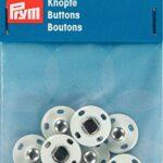 Prym-341900-Bottoni-a-Pressione-in-Ottone-14-mm-5-Pezzi-Colore-Bianco-B00VI8VUOI