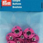 Prym-341905-annaehdruck-Bottoni-in-Ottone-14-mm-Pink-5-pezzi-B00VI8W6U0