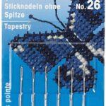 Prym-Numero-26-Aghi-da-Ricamo-Metallo-Argento-105-x-49-x-02-cm-B0074OKDN4